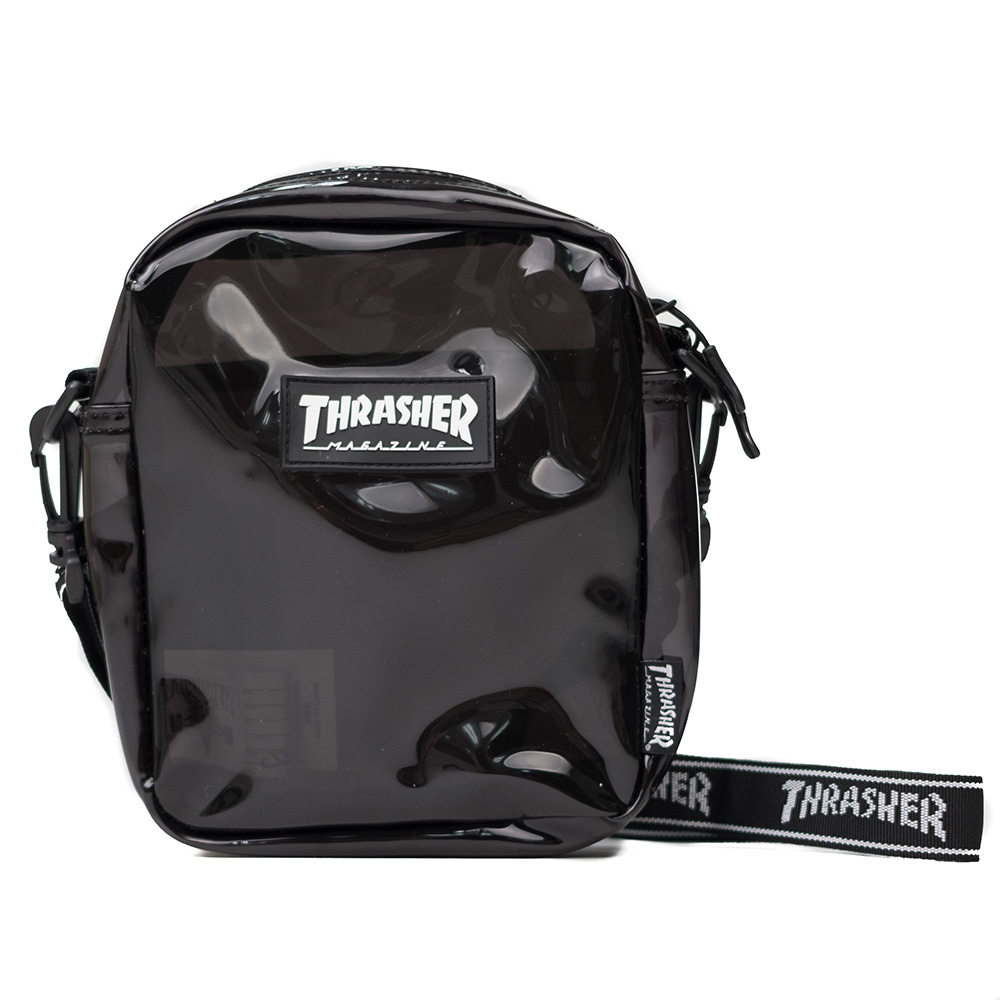 Thrasher (Japan) Hometown Clear Shoulder Bag - Black