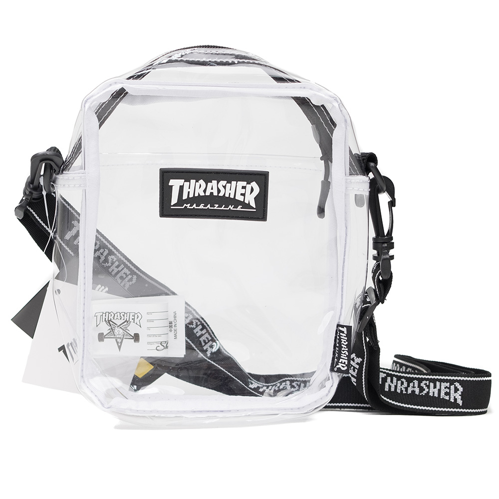 Thrasher (Japan) Hometown Clear Shoulder Bag - Transparent