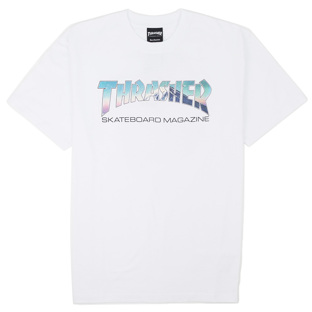 Thrasher (Japan) Hometown Mag Fujisan S/S T-Shirt - White
