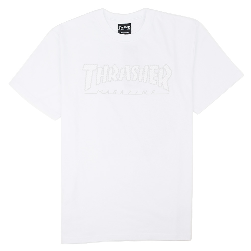 Thrasher (Japan) Hometown Ribbon S/S T-Shirt - White