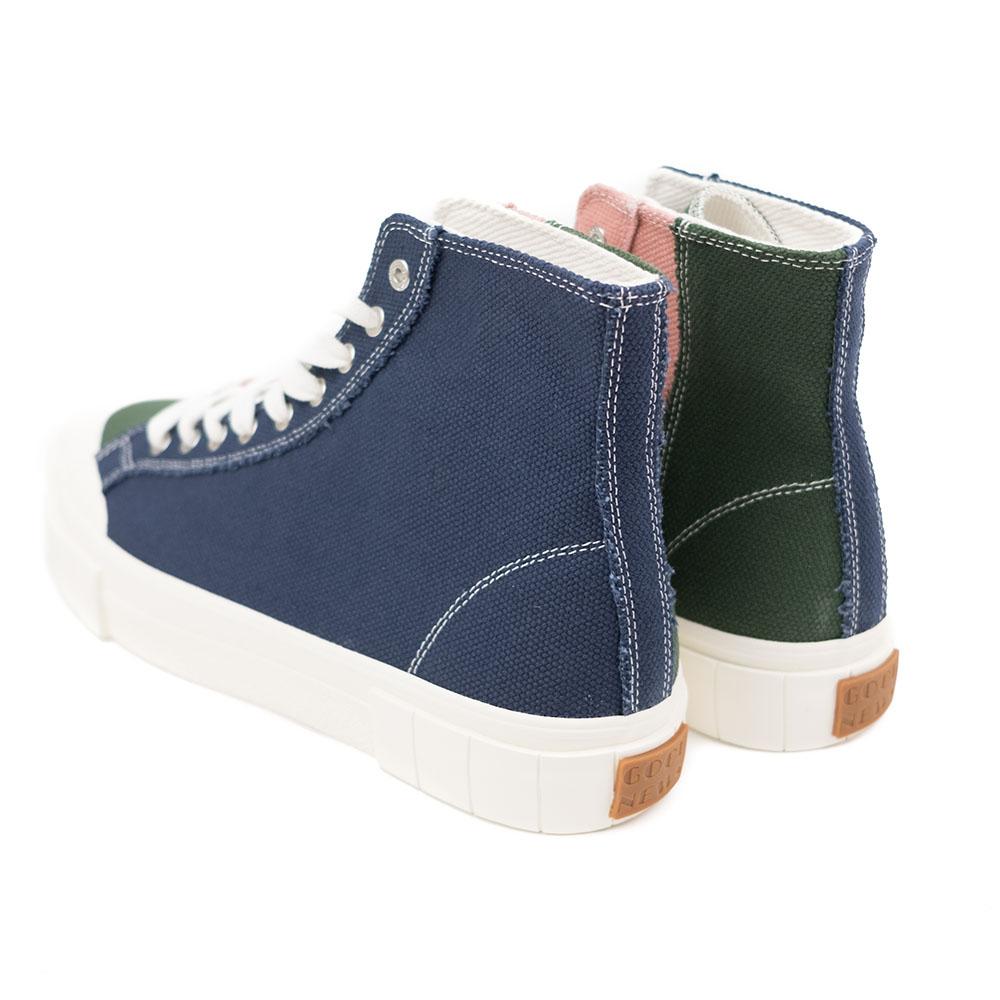Good News Palm Sneaker - Navy / Green / Pink