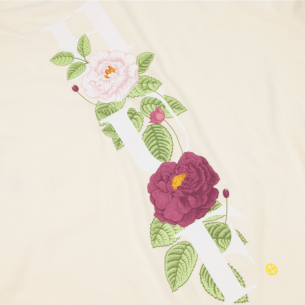 HUF Central Park Pocket Tee - Cream
