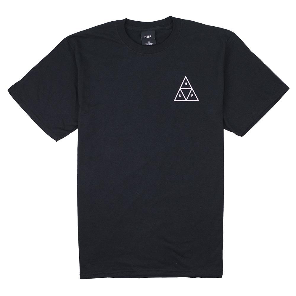 HUF Essentials Tt Tee - Black