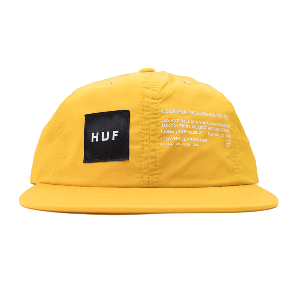 HUF Offset 6 Panel Hat - Golden Spice