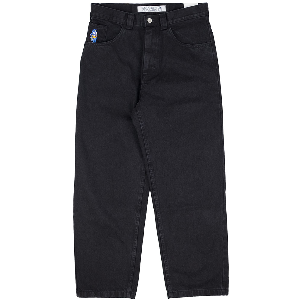 Polar Skate Co. '93 Denim - Pitch Black