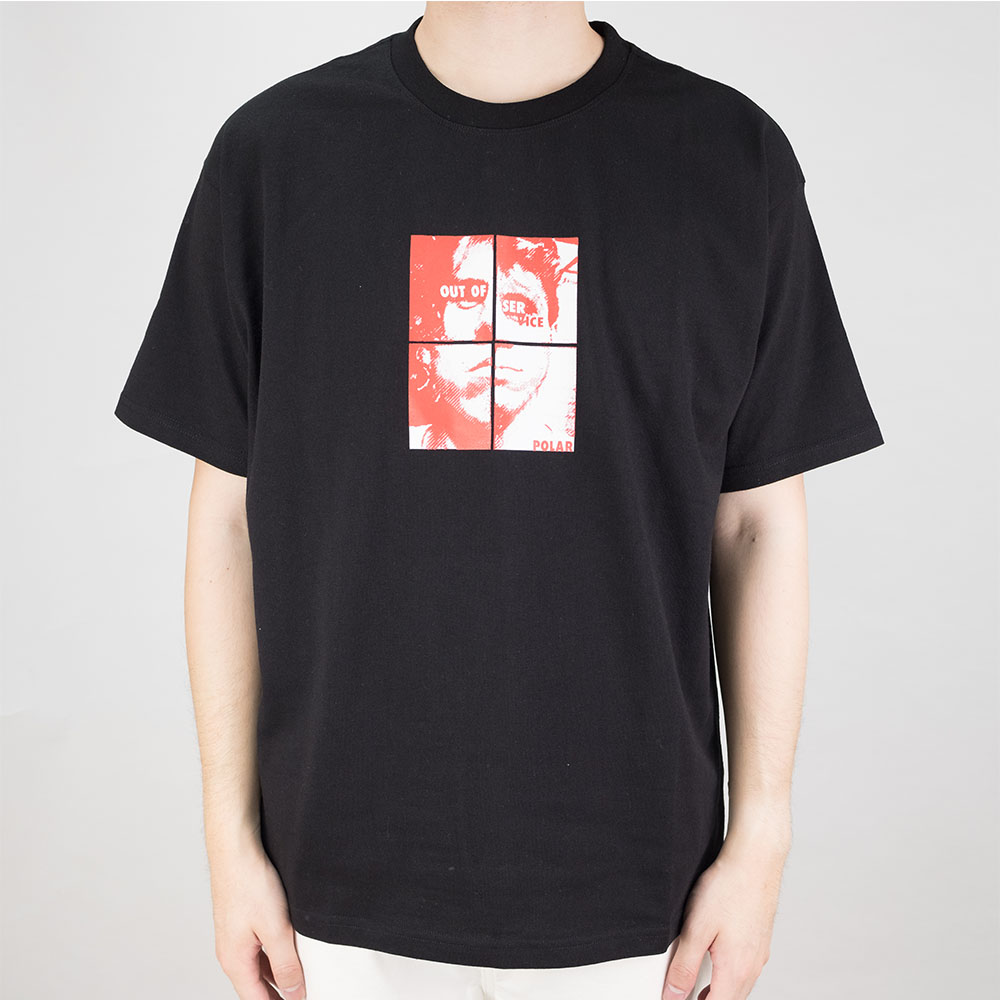 Polar Skate Co. Out Of Service Tee - Black