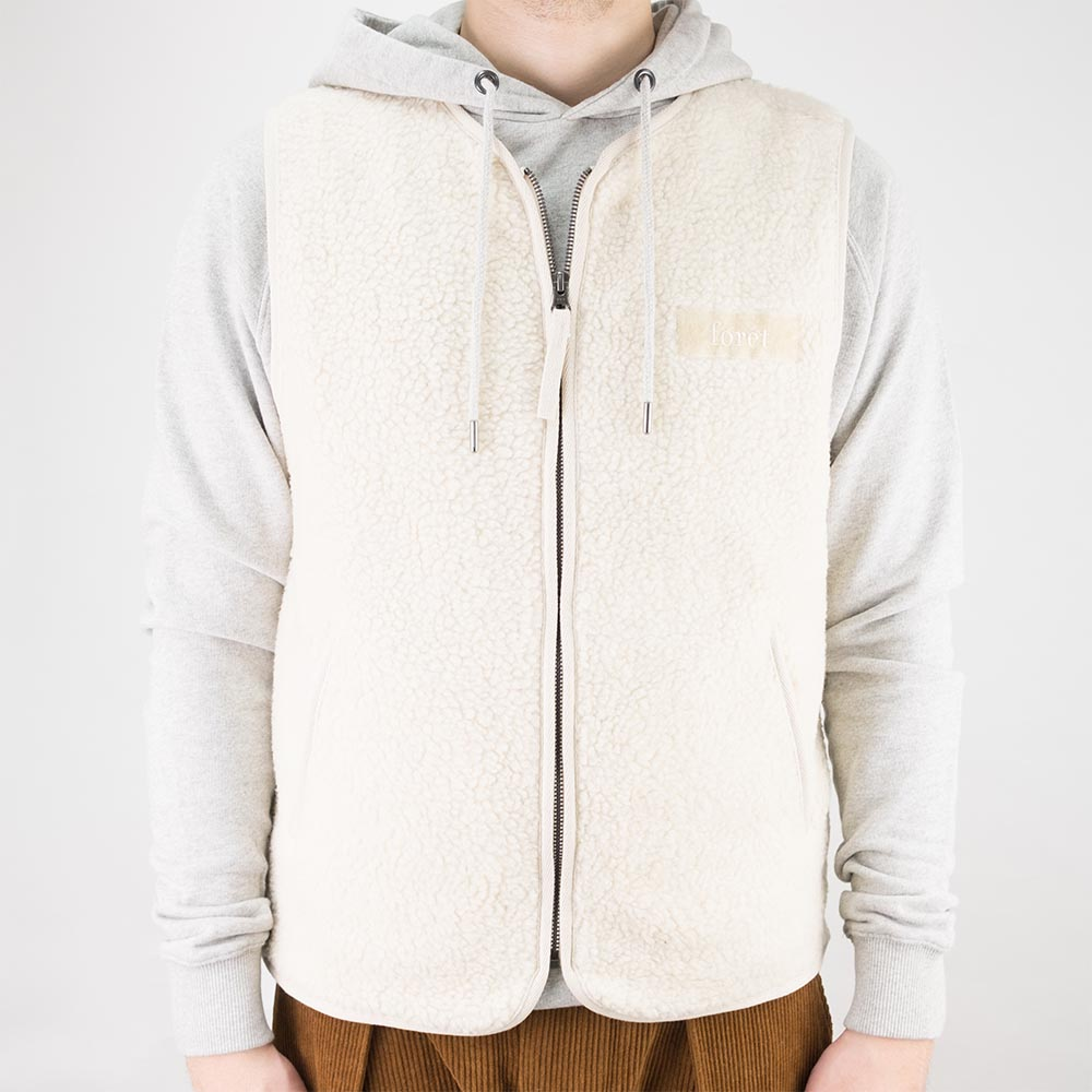 forét Cove Vest - Cream