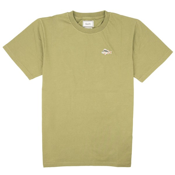 forét Fish T-Shirt - Olive