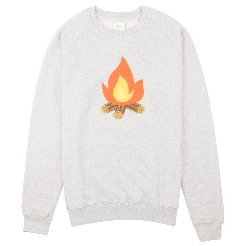 forét Heat Sweatshirt - Grey