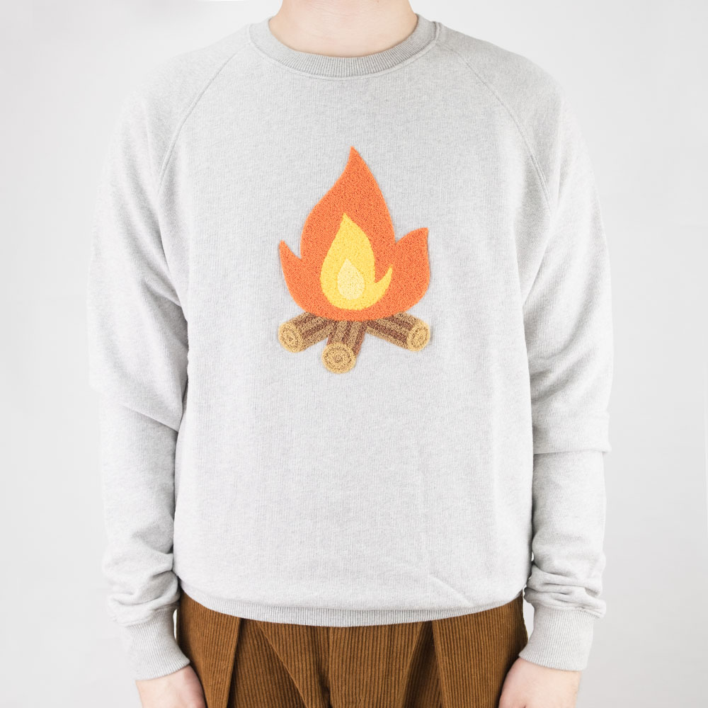 forét Heat Sweatshirt - Grey