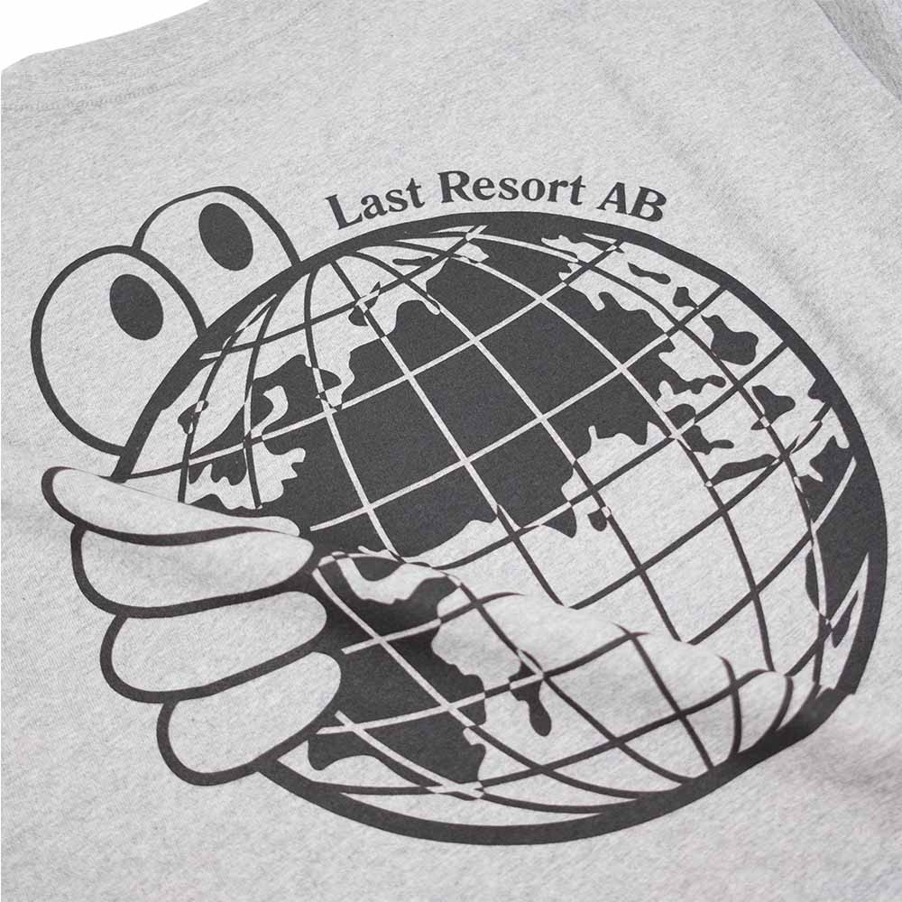 Last Resort AB World Tee - Heather Grey