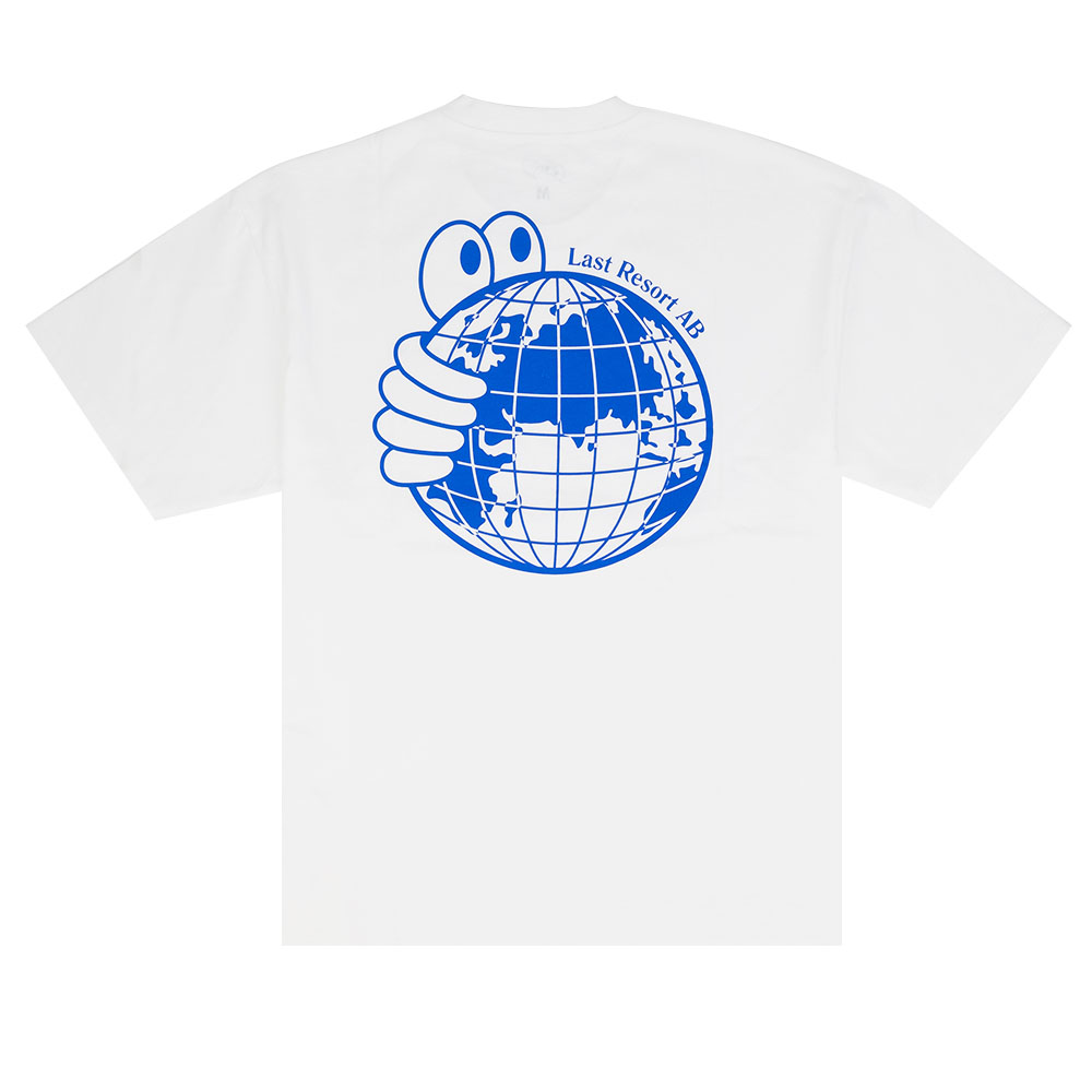 Last Resort AB World Tee - White