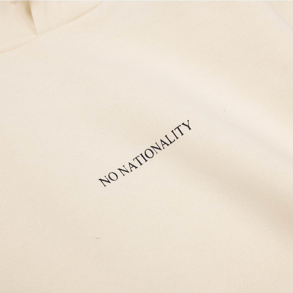 NN07 Barrow Print Hoodie - Vanilla