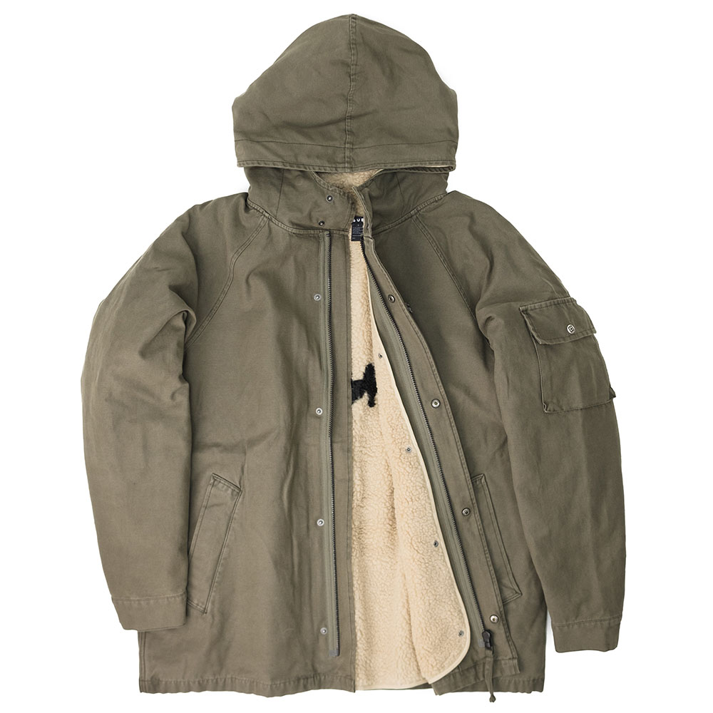 Ksubi Map Jacket- Khaki