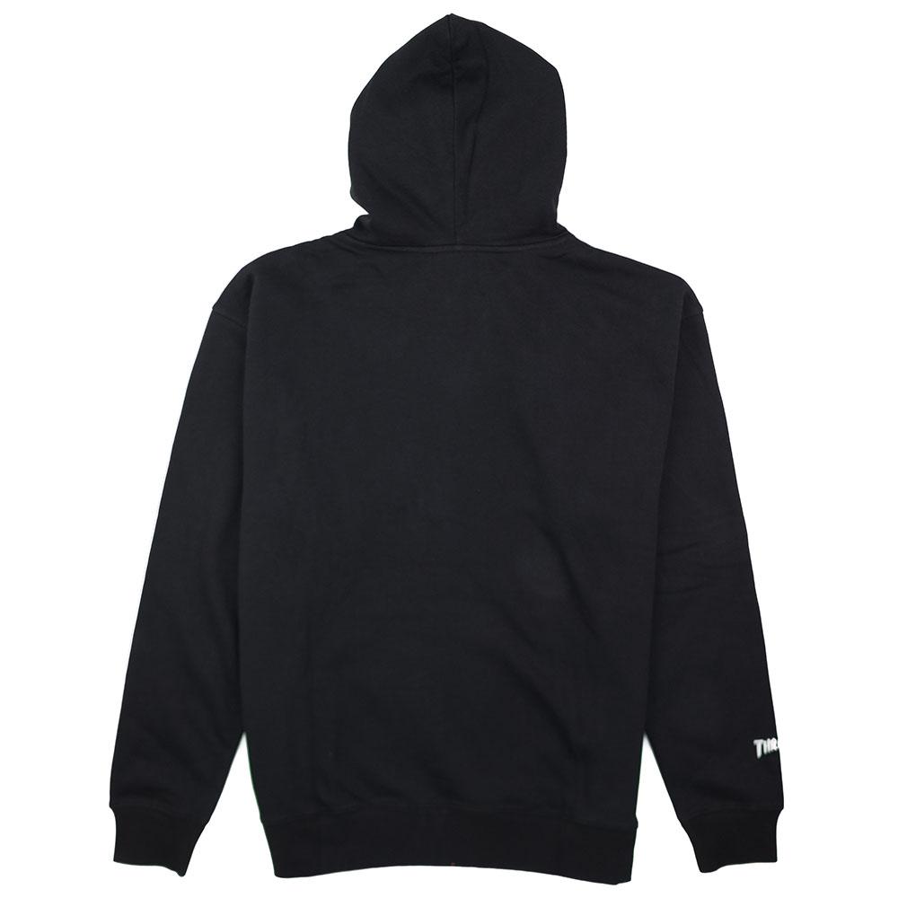 Thrasher (Japan) Flame Patriot Hooded Sweatshirt - Black 6