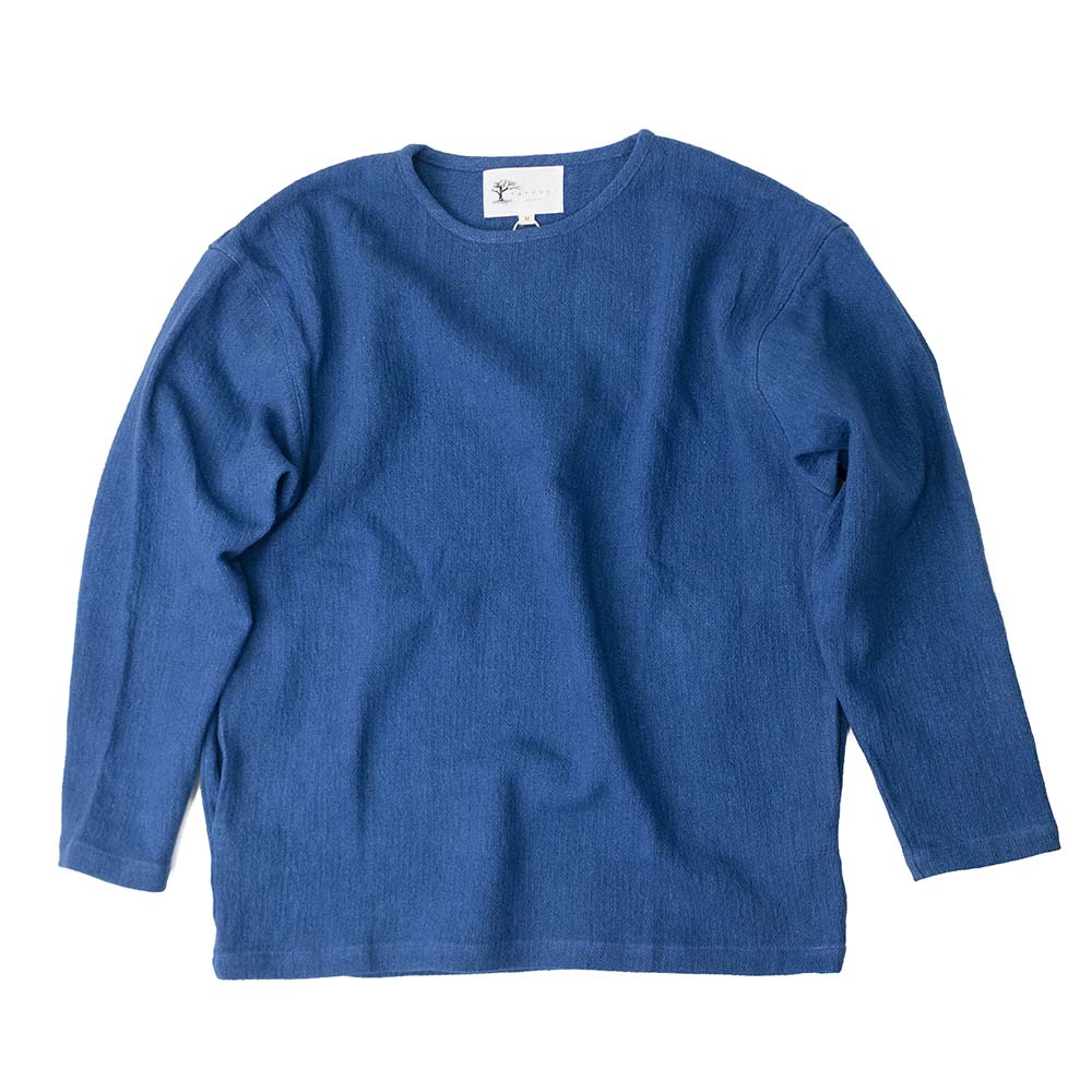Taproot Hand dyed Long Sleeve Tee - Indigo