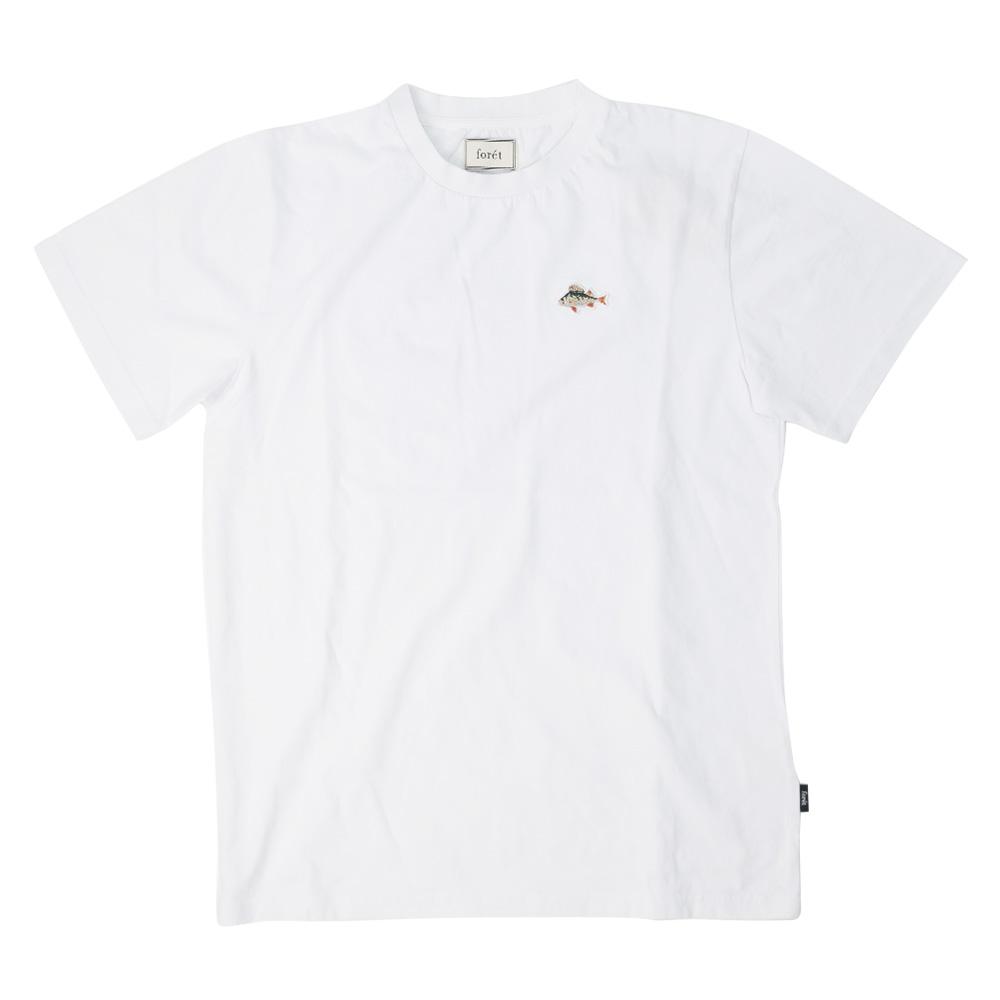 forét Fish T-Shirt - White