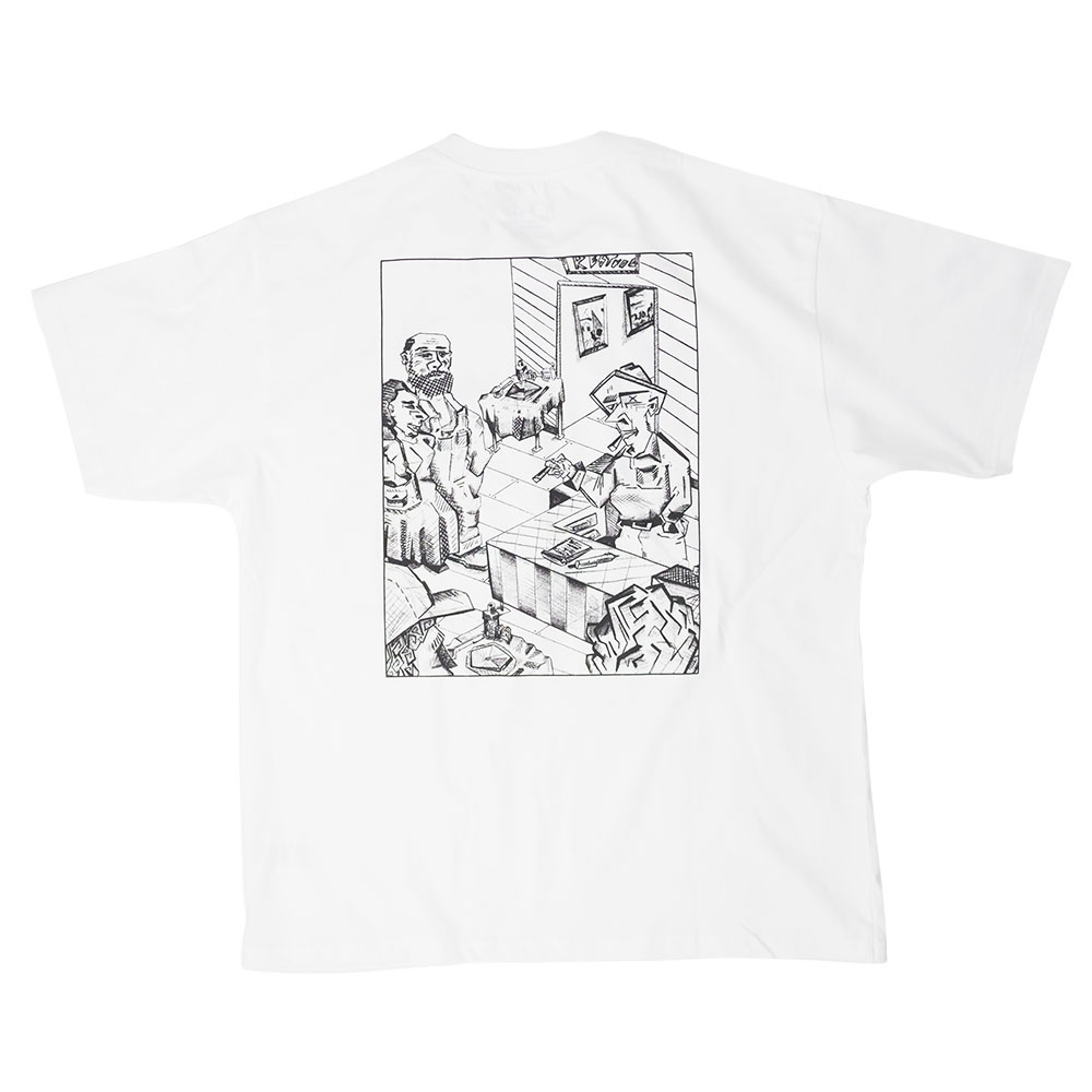 Polar Skate Co. Bistro Tee - White