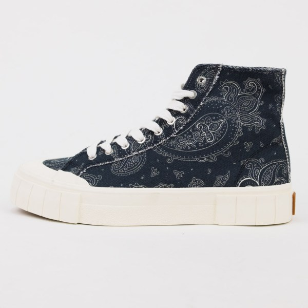 Good News Palm Paisley Sneaker - Black