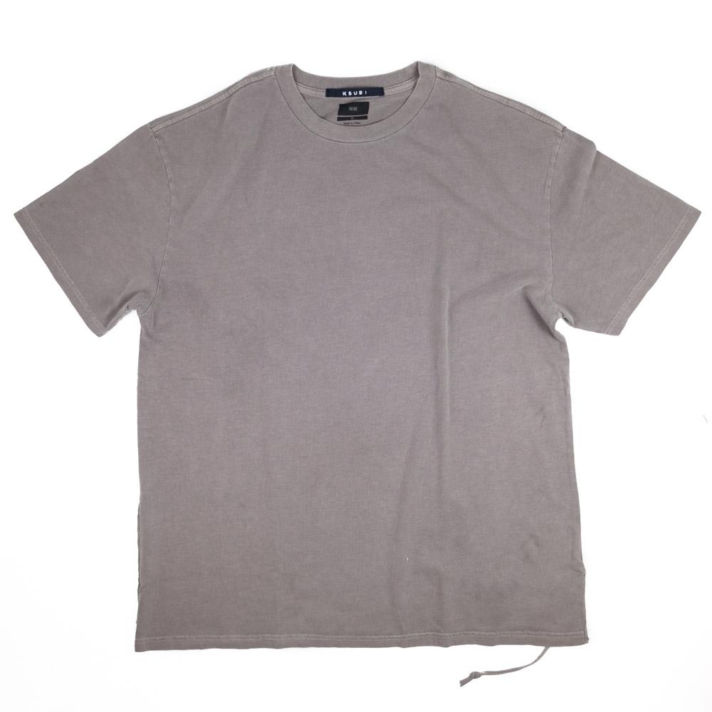 Ksubi Cross Logo Short Sleeve Tee - Grey