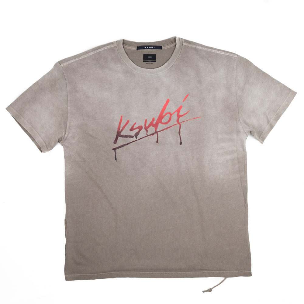 Ksubi Flint Short Sleeve Tee - Grey