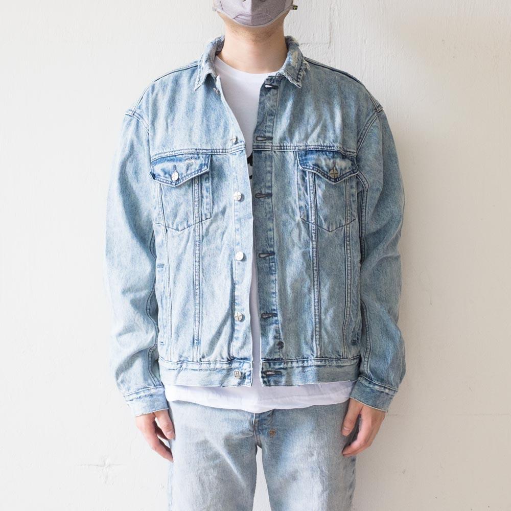 Ksubi Oh G Jacket Acid Trip Trash - Denim