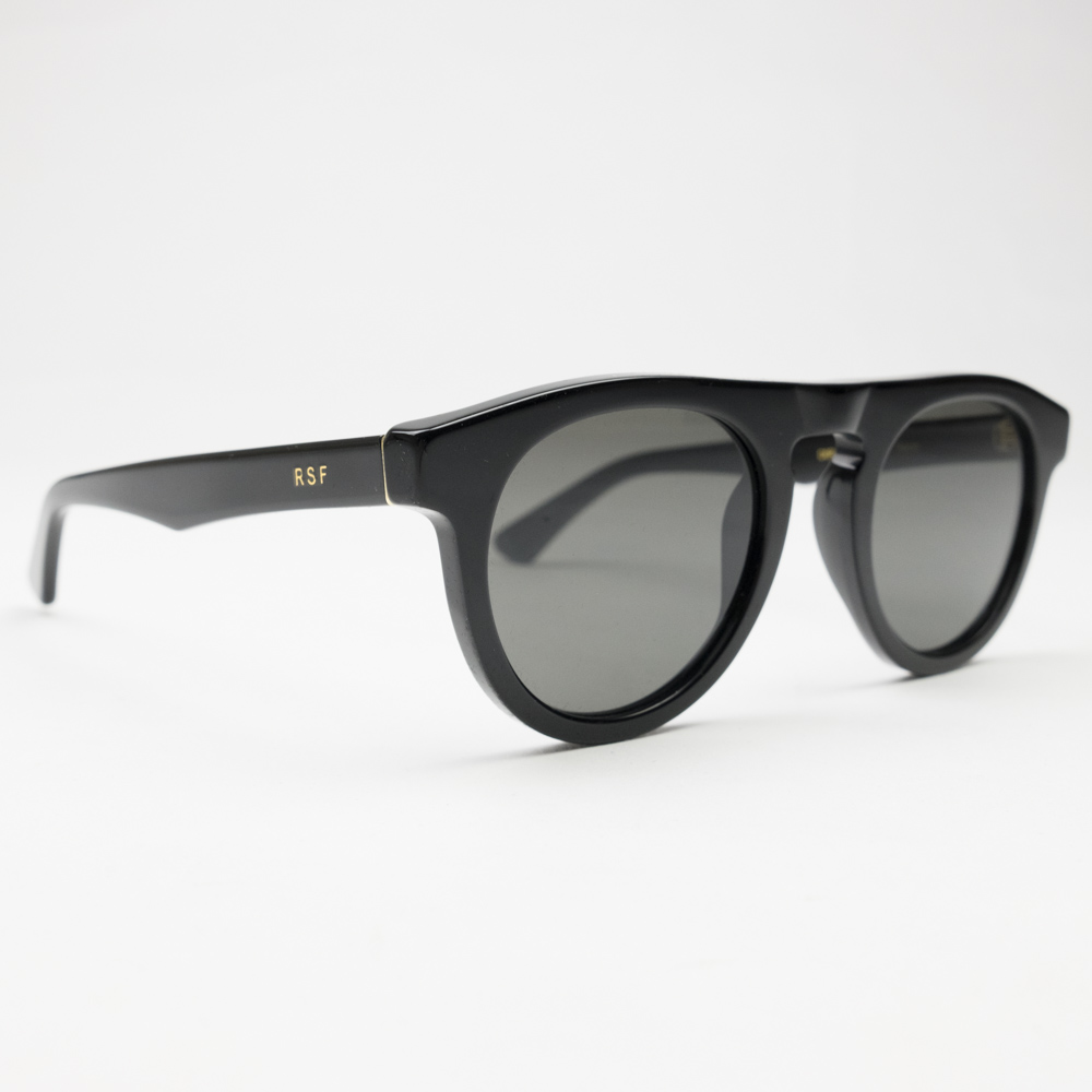 RETROSUPERFUTURE Racer Sunglasses - Black