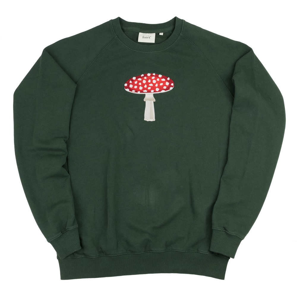 forét FLY Sweatshirt - Dark Green
