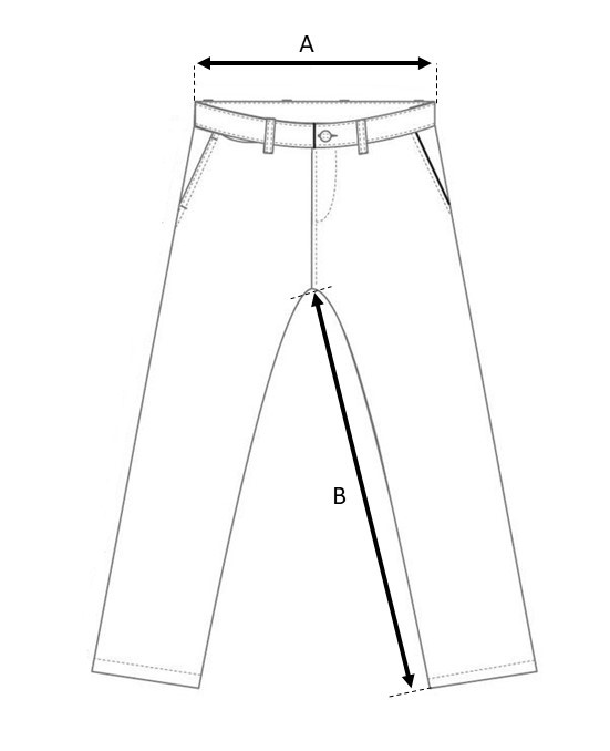 trousers size