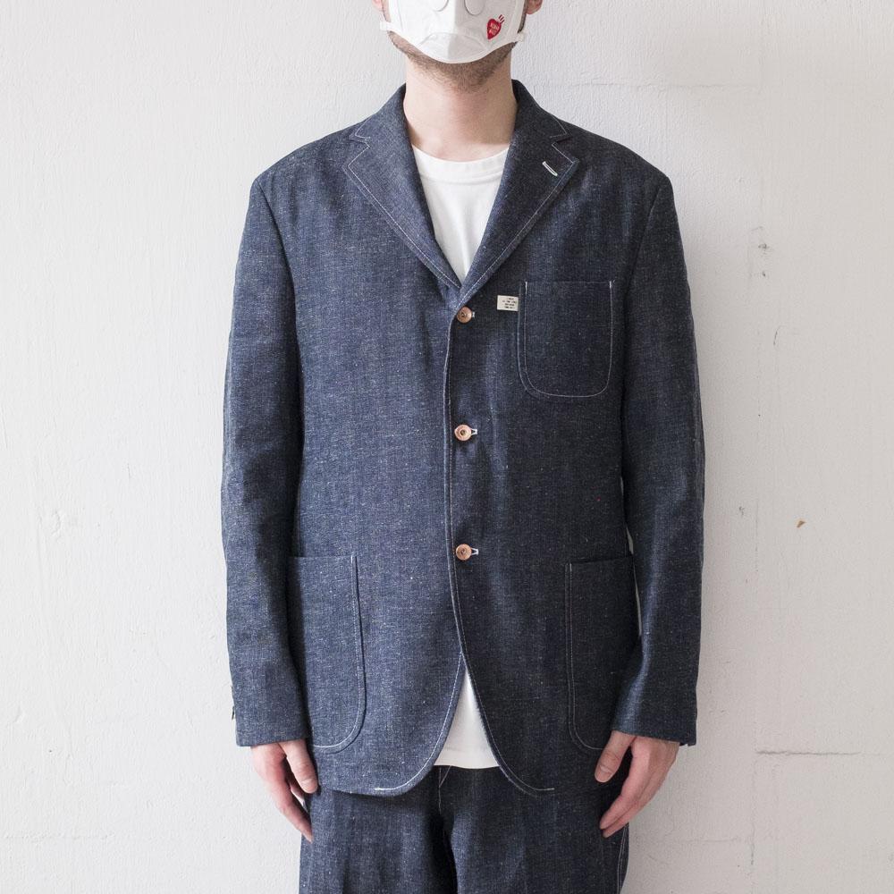 Kuro x J.Press Denim Authentic 3B Blazer