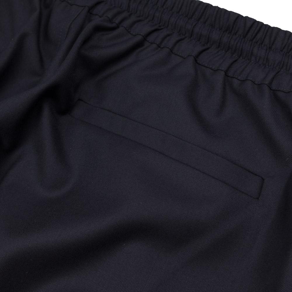 Kuro x J.Press Clear Sarge Worsted Wool Easy Pants - Navy