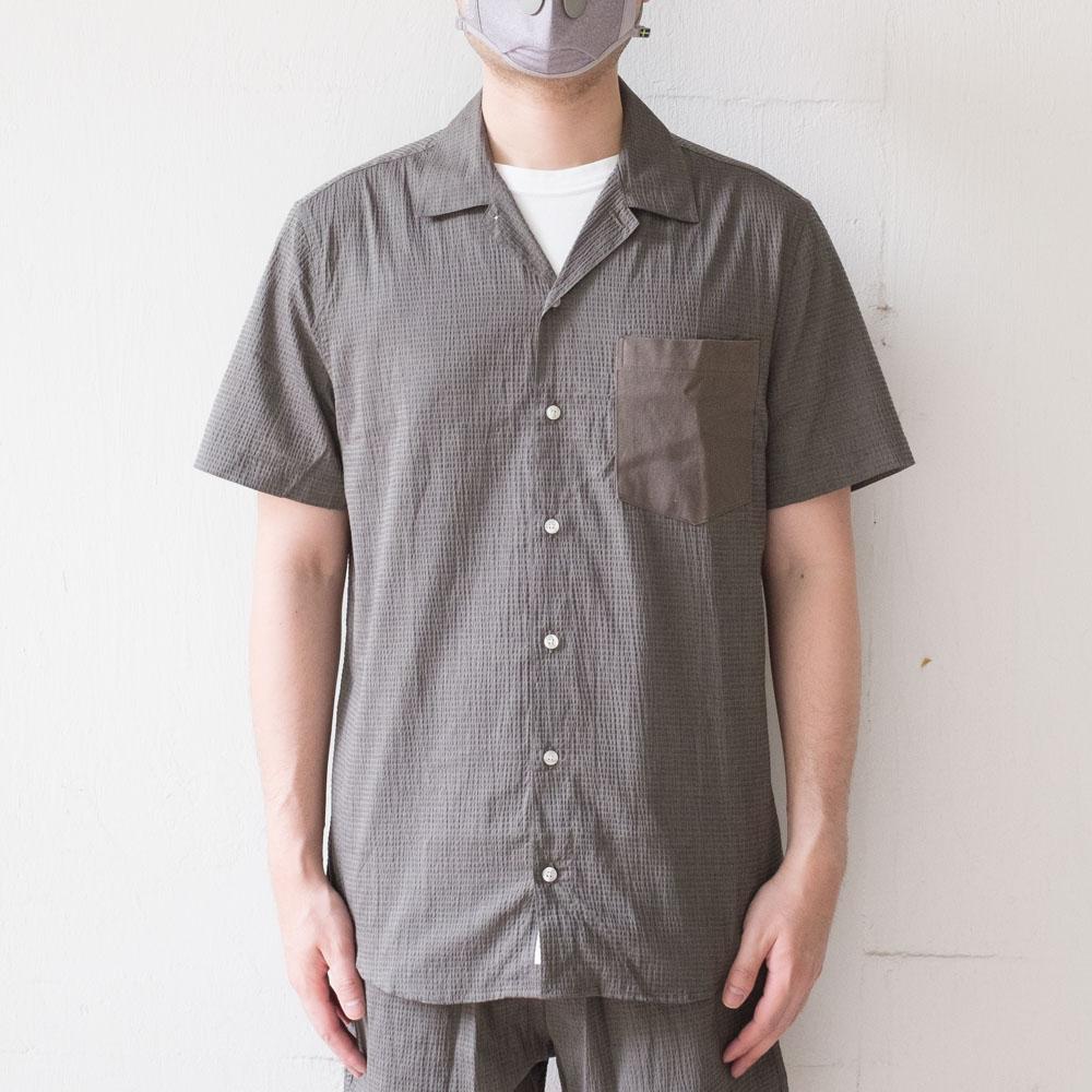 forét Duck Shirt - Stone