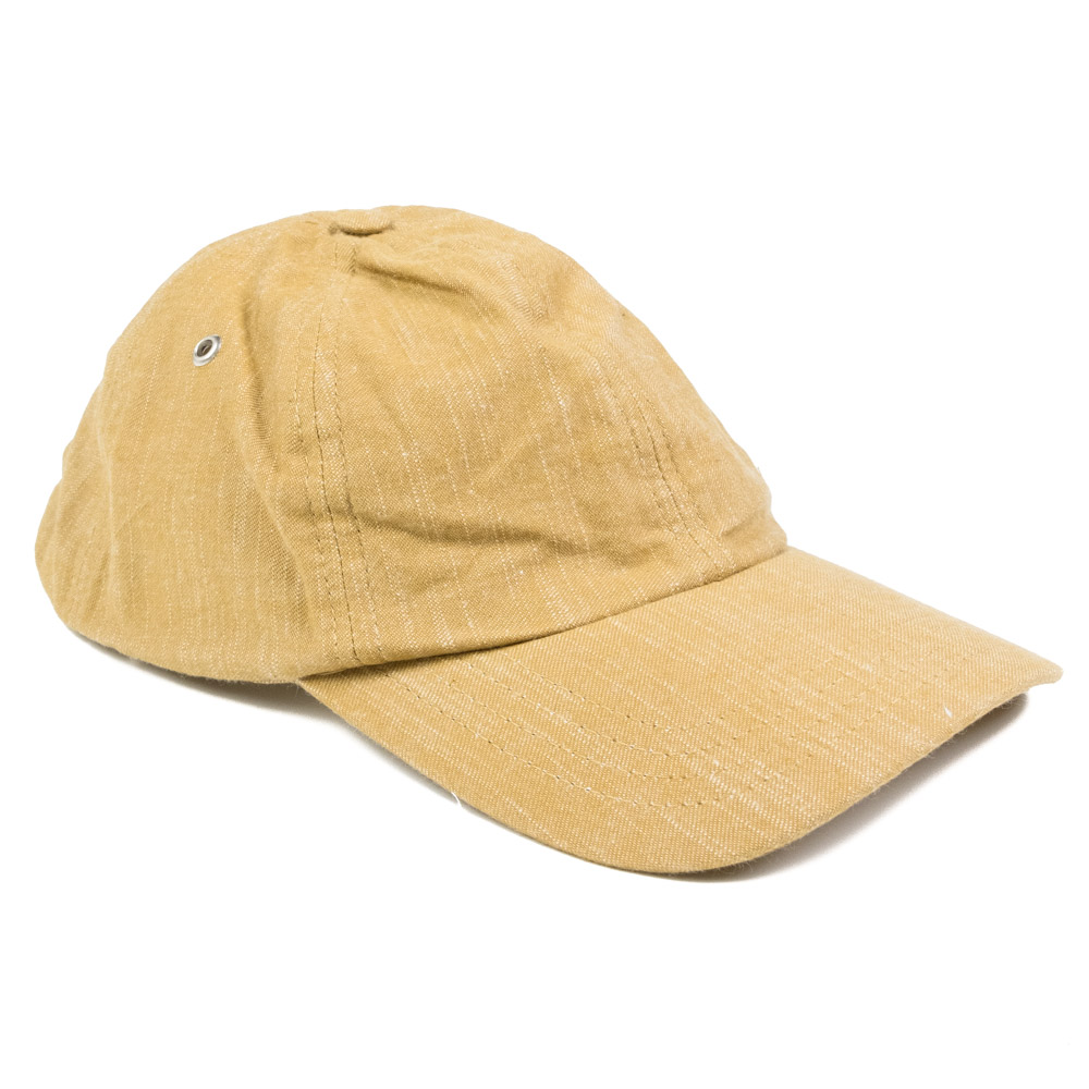 Folk 6 Panel Hat - Tan Texture