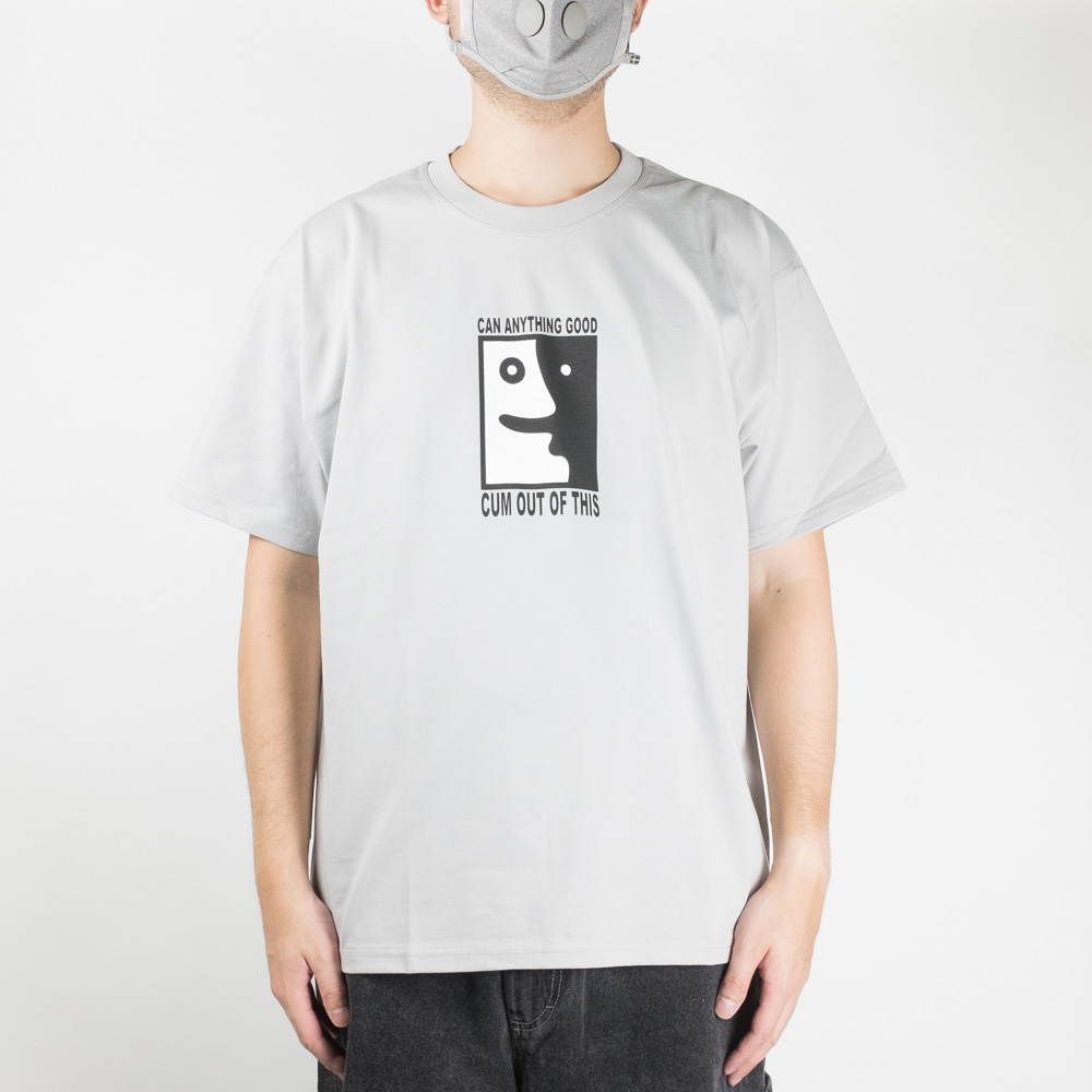 Polar Skate Co. Anything Good? Tee - Silver Grey