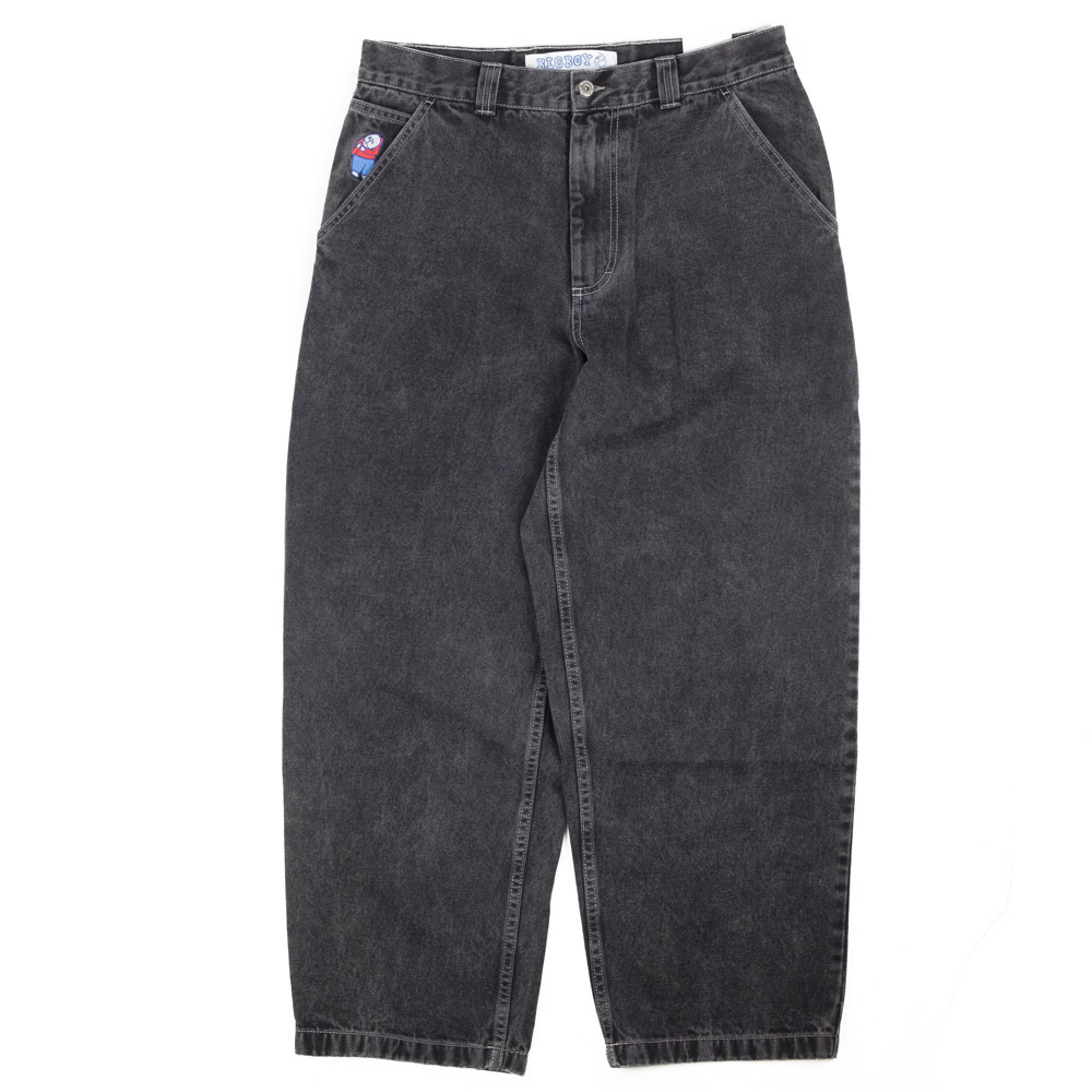 Polar Skate Co. Big Boy Work Pants - Washed Black