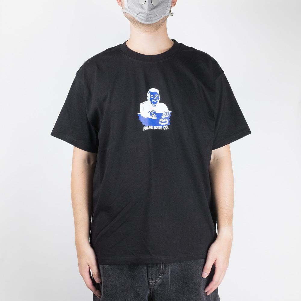 Polar Skate Co. Chain Smoker Tee - Black