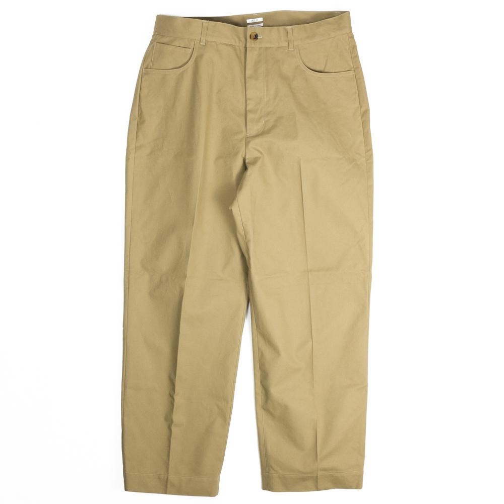 IKIJI Cotton CANVAS Pants - Beige