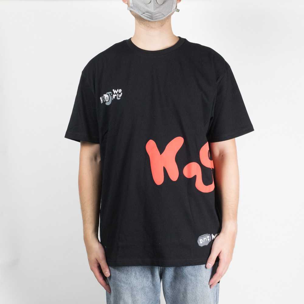 Ksubi x HidjiWorld & Don't Watch TV Side Walk Biggie Short Sleeve Tee - Black