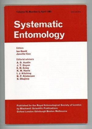 Systematic Entomology Volume 10, Number 2, April 1985