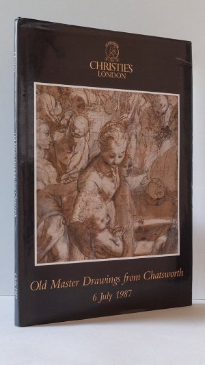 Old Master Drawings from Chatsworth sold by Order of the Trustees of the Chatsworth Settlement at Christie's Great Rooms on Monday 6 July 1987