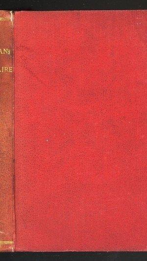 Romans De Voltaire. Tome Troisieme