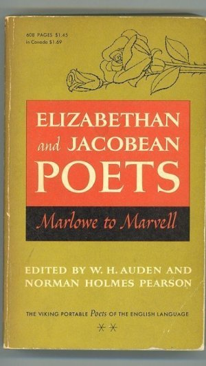 Elizabethan and Jacobean Poets. Marlowe to Marvell