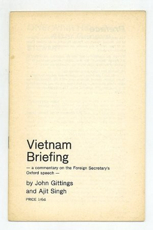 Vietnam Briefing. a Commentary on the Foreign Secretaries Oxford Speech