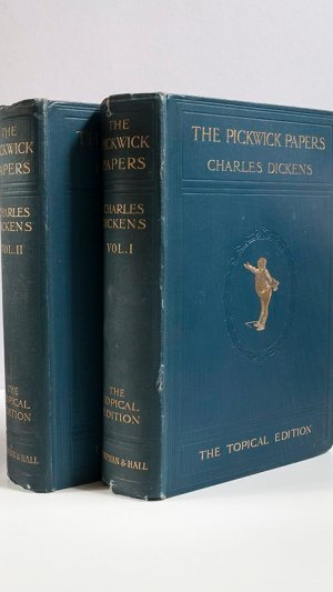 The Posthumous Papers of the Pickwick Club (2 Volumes)
