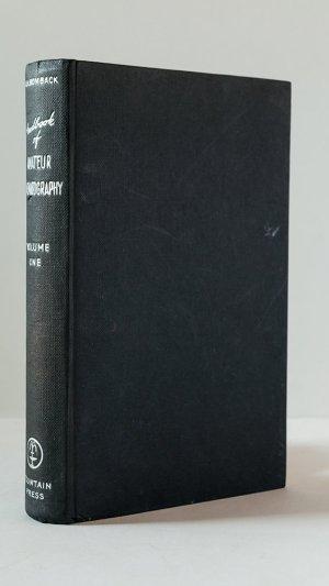 Handbook of Amateur Cinematography Volume One