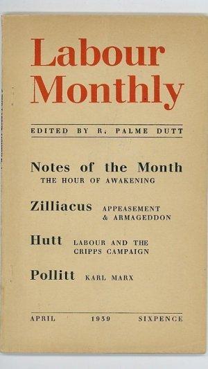 Labour Monthly: April 1939 Vol 21 No.4