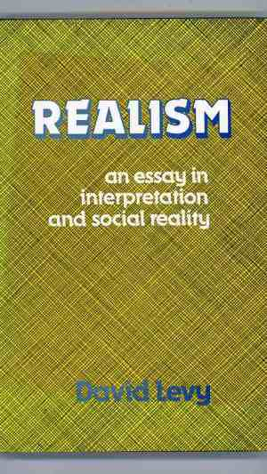 Realism: An Essay in Interpretation and Social Reality