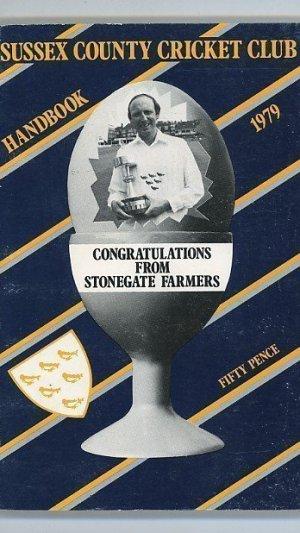 Sussex County Cricket Club Handbook 1979