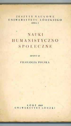 Nauki humanistyczno-spoleczne.