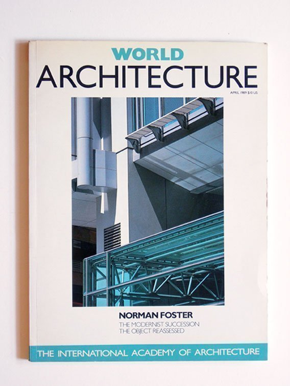 World Architecture Volume 1 No.1